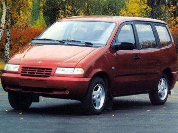 ВАЗ-2120 Надежда Объем бака, багажника Грузоподъемность Расход топлива