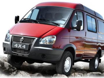ГАЗ-27057 «Газель-Бизнес» - полноприводный фургон (4x4)