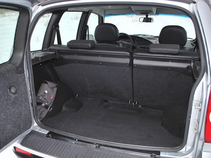 Багажник Шевроле Нива нового образца
