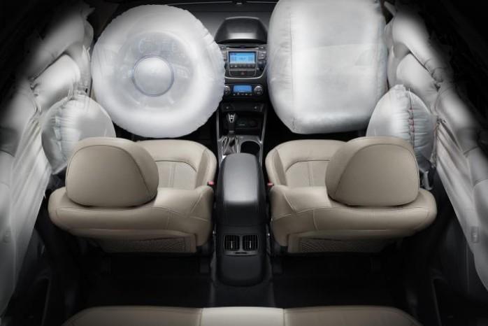 Новый Хендай ix35 подушки безопасности