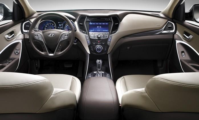 Фото салона Hyundai Santa Fe