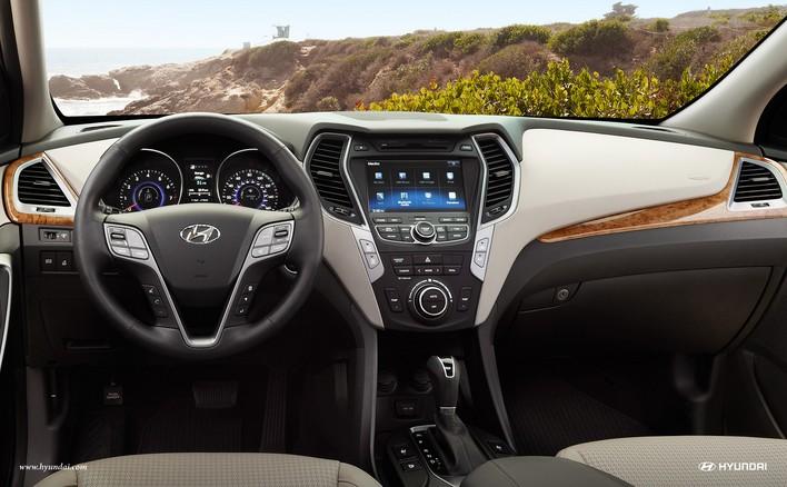 Панель приборов Hyundai Santa Fe