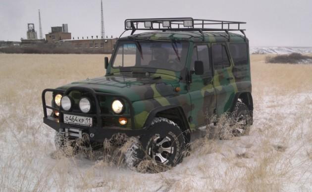 УАЗ-31514 - полноприводный автомобиль