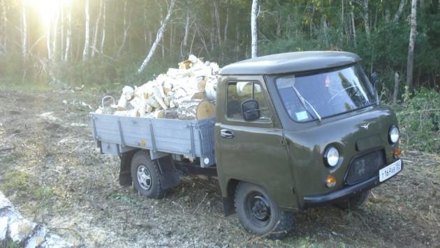 """УАЗ-3303 """"Головастик"""" - грузовик 4х4"""