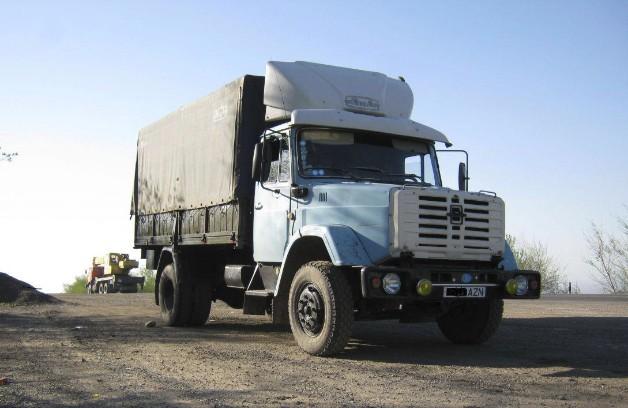 ЗИЛ-433100 - грузовик-тягач