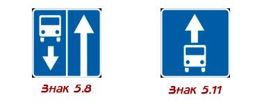 полоса для маршрутных ТС